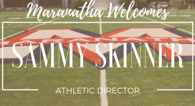 Welcome our new Athletic Director, Sammy Skinner
