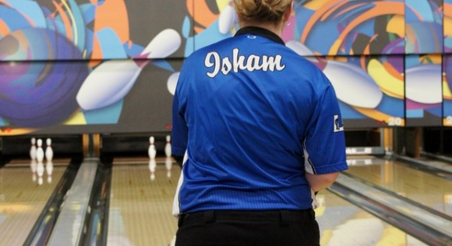 Lady Blue Devils Bowling Team compete in the District Semi-finals Today