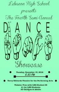 Winter 2016 Showcase Flyer