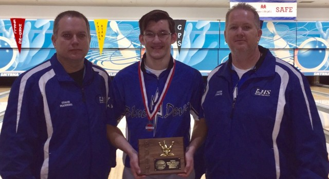 Tyler Moore Bowling Individual State Champion