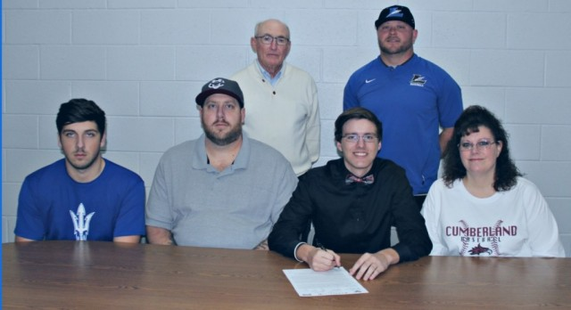 Daniel Holmes signs with Cumberland