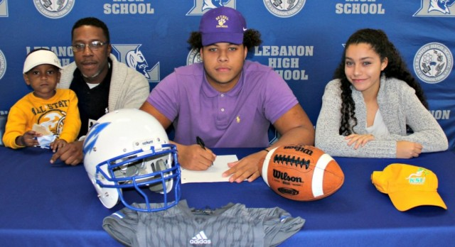 Jaden Moore inks with Bethel- story courtesy of Tommy Bryan, Wilson Post
