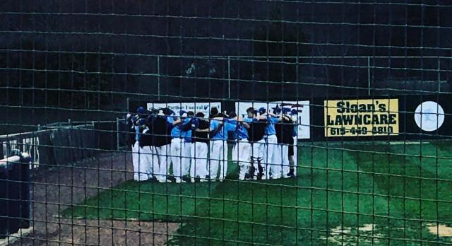 Lebanon High School Varsity Baseball beat Gallatin High School 10-4