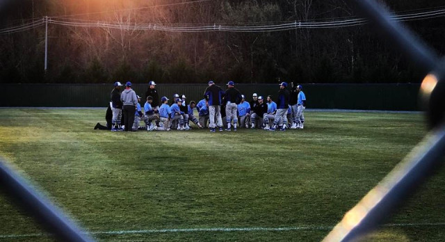 Lebanon High School Varsity Baseball beat Highland Playing For A Cure- KARNS 11-1