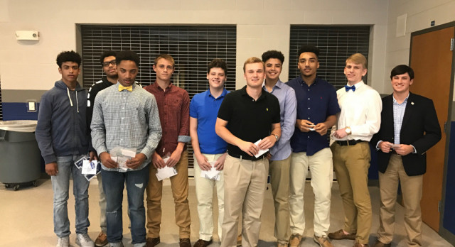 Varsity Boys Basketball 2016-17 Banquet