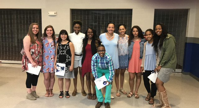 Girls Basketball Banquet 2016-2017