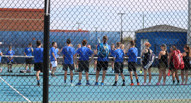 Lebanon High School Boys Varsity Tennis beat Beech Senior High School 5-2