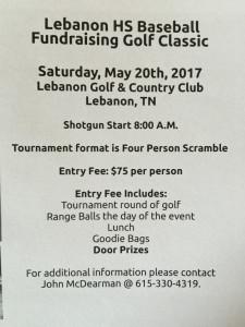 fundraising golf classic