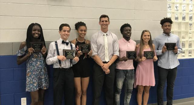 Congratulations Track and Field Award Winners