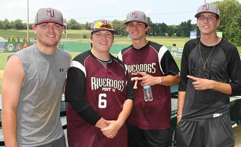 Current and Former Blue Devils Playing for Post 281, MJ Riverdogs–Story and Picture by Tommy Bryan