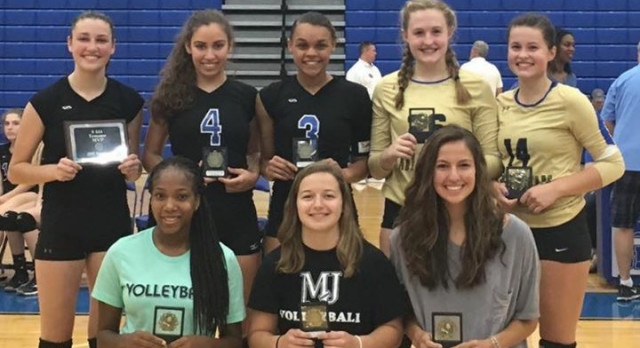 Congratulations LHS Volleyball All Tournament MVP and All Tournament Team