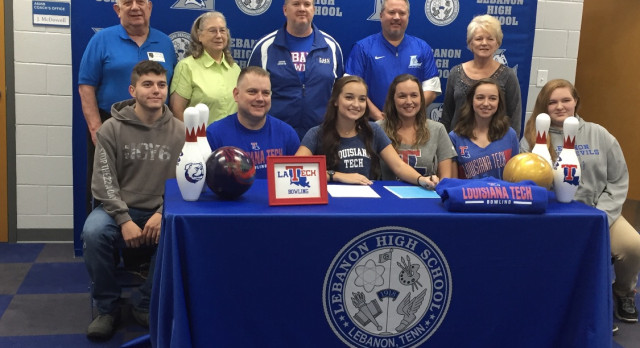 Congratulations Lindsay Manning- Signs with Louisiana Tech University
