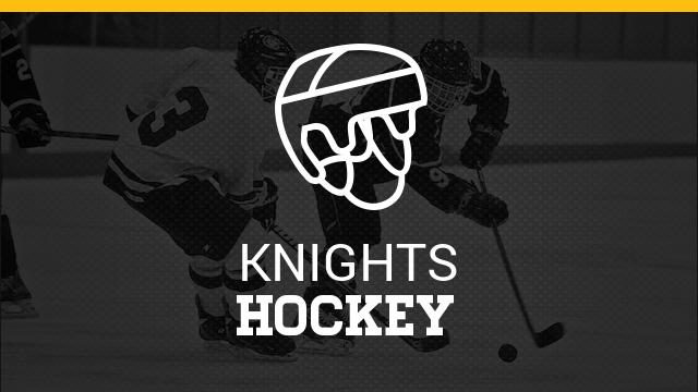 Kenowa Hills High School Boys Varsity Hockey beat Hudsonville High School 7-5