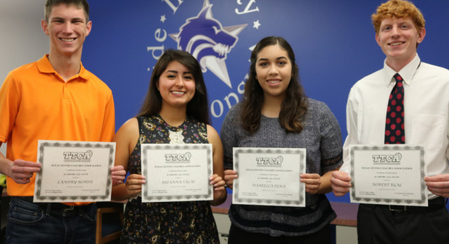 Tennis foursome named Academic All-State