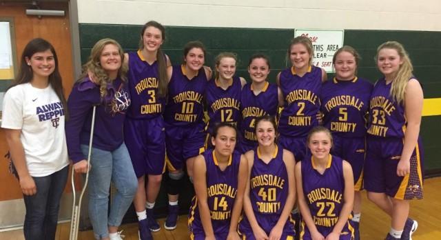 Trousdale County High School Girls Varsity Basketball beat Gallatin High School 62-41