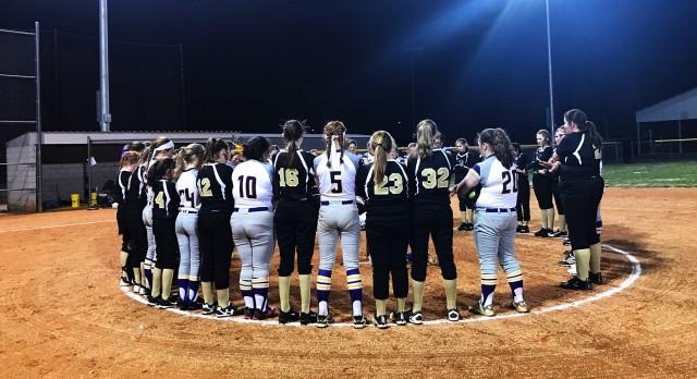 Jim Satterfield Middle School Varsity Softball – MS beat Smith County Middle School 3-0