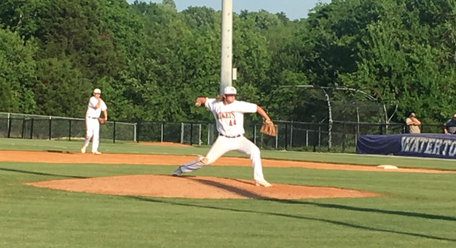 Trousdale County High School Varsity Baseball falls to Watertown High School 7-6
