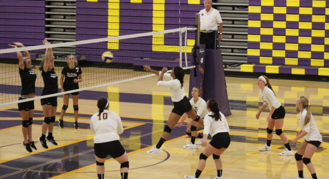 Trousdale County High School Girls Varsity Volleyball falls to Clay Co. 3-0