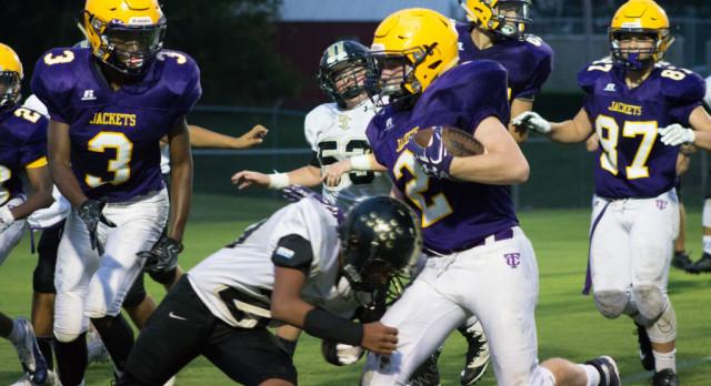 Jim Satterfield Middle School Varsity Football – MS beats Smith Co. 36-28