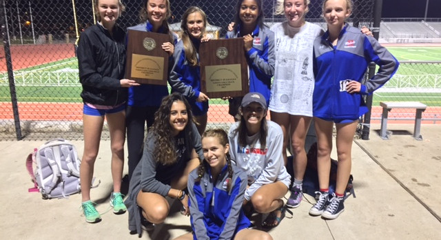 Lady Rebel Track Takes the District 25-6A Title