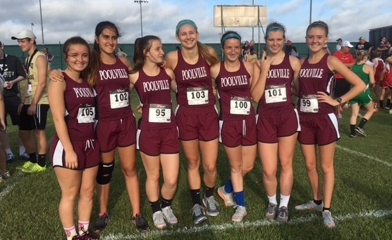 Lady Monarchs Place 2nd at Alvord meet 9/24