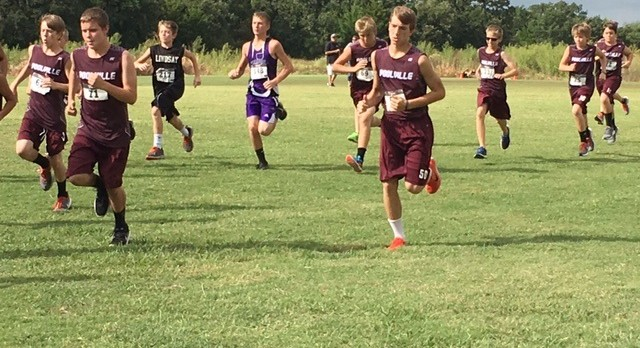 Poolville Boys Middle School Cross Country finishes 3rd place
