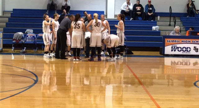Poolville High School Girls Varsity Basketball falls to Huckabay High School 64-25
