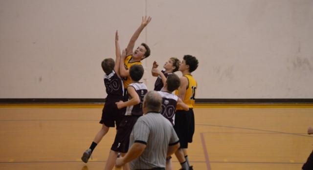 Poolville Boys 8th Grade Basketball beat Chico High School 45-21