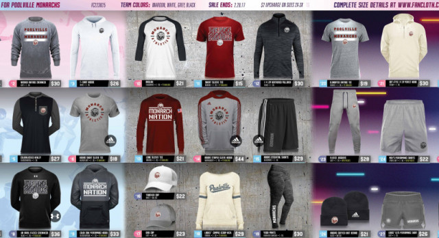 Poolville Basketball is Selling Fan Cloth Items