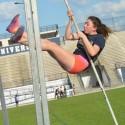 Girls Track practice photos