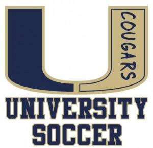 University Soccer Logo 2016