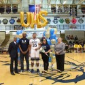 Boys Varsity Basketball Senior Night 2017