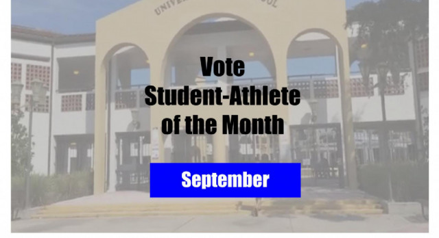 Vote Now for the September Student-Athlete of the Month!