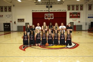 2015-2016 Varsity Girls Basketbal