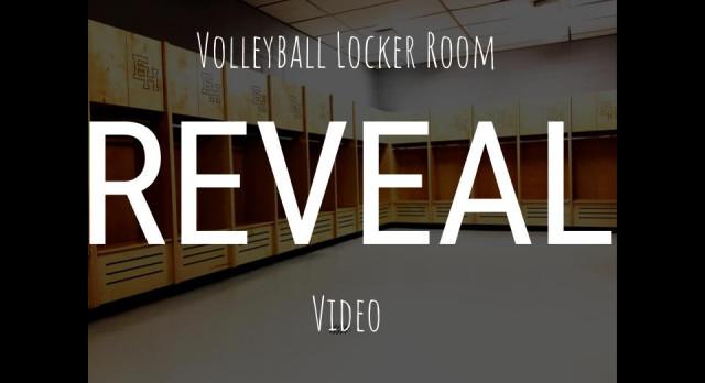 Volleyball Locker Room REVEAL…