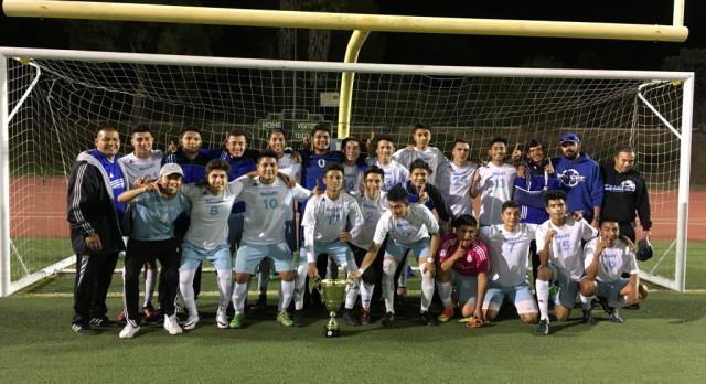 Boys Varsity and F/S Soccer Win NOCC Championships