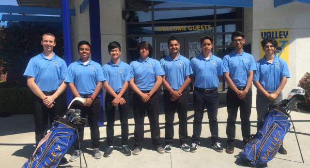 Boys Varsity Golf Wins First Ever League Championship
