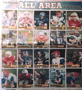 All Area Football
