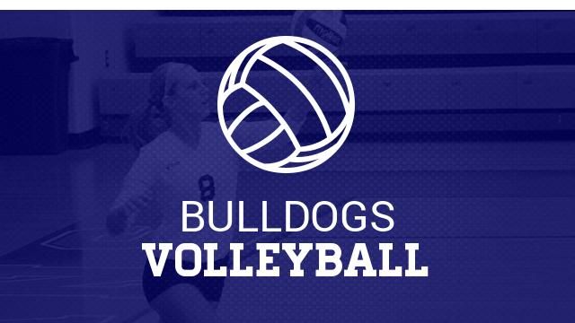 Volk and Braun named 1st team all conference volleyball