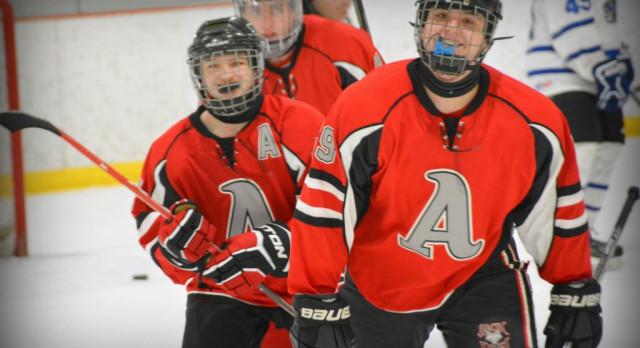 Ambridge/Avonworth High School Hockey team opens season with 7-4 victory