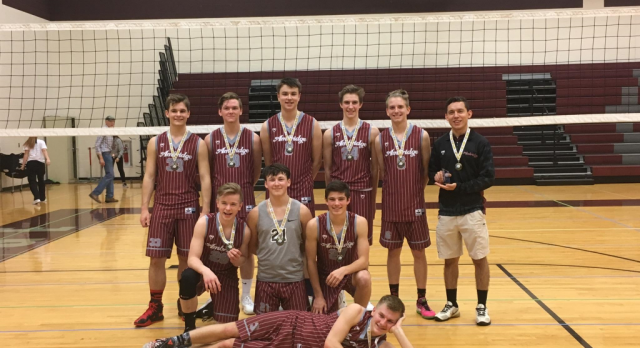 Boys' Volleyball Earns First Place at JV Tournament