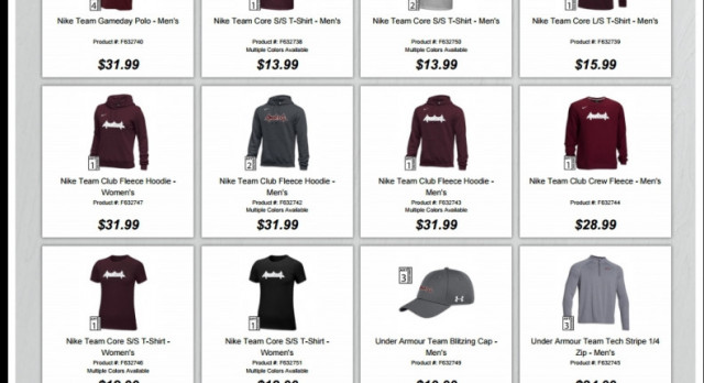 School Spirit Store Launched