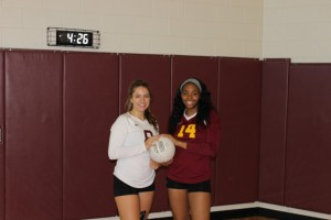 Senior Volleyball Captains