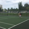 First Week Of Tennis Training