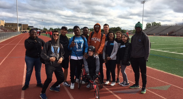 Paralympic Track Meet