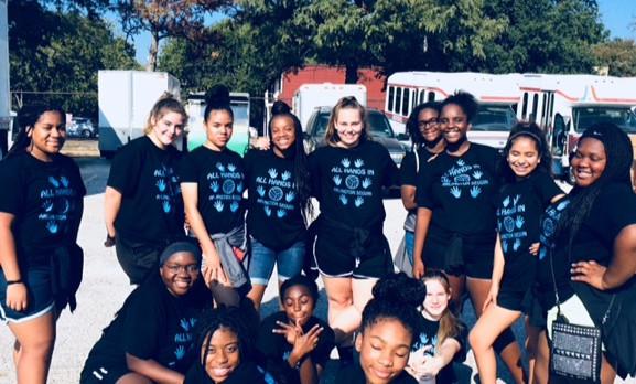 Volunteering at Mission Arlington