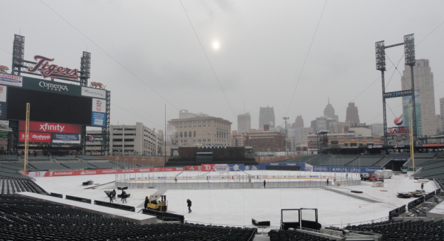 Grosse Pointe North Hockey @ Comerica Park