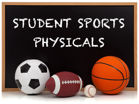 Sports Physicals at GPN August 4th at 4:30pm