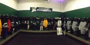 Boys Hockey Locker Room