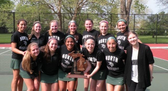 Girls Tennis Team wins MHSAA Regional